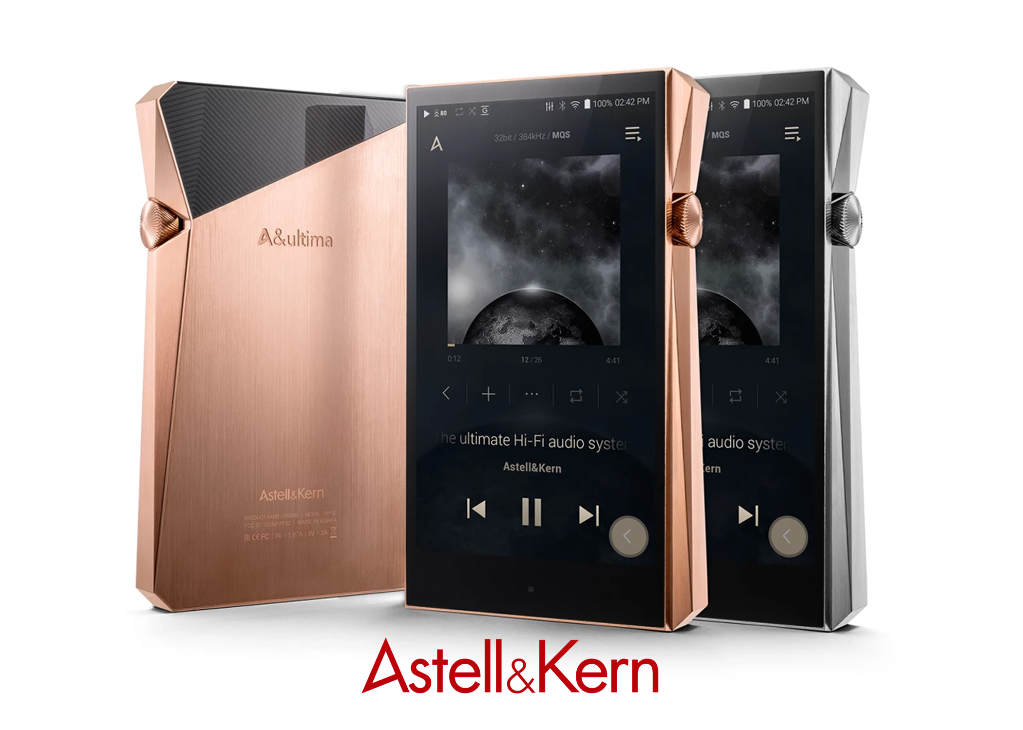 Astell&Kern A&ultima SP2000 MQA Certified Portable Audio Player