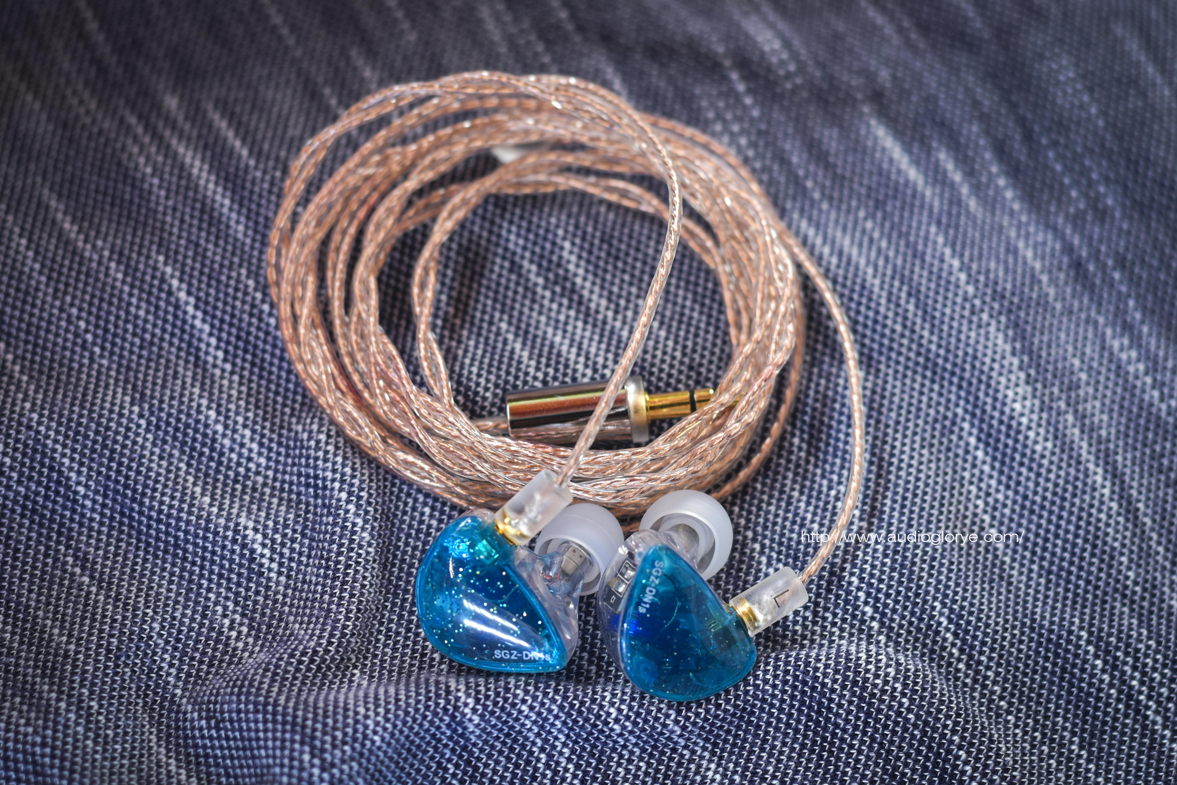 BGVP SGZ-DN1S with OE Audio 2Dual OFC Cable.